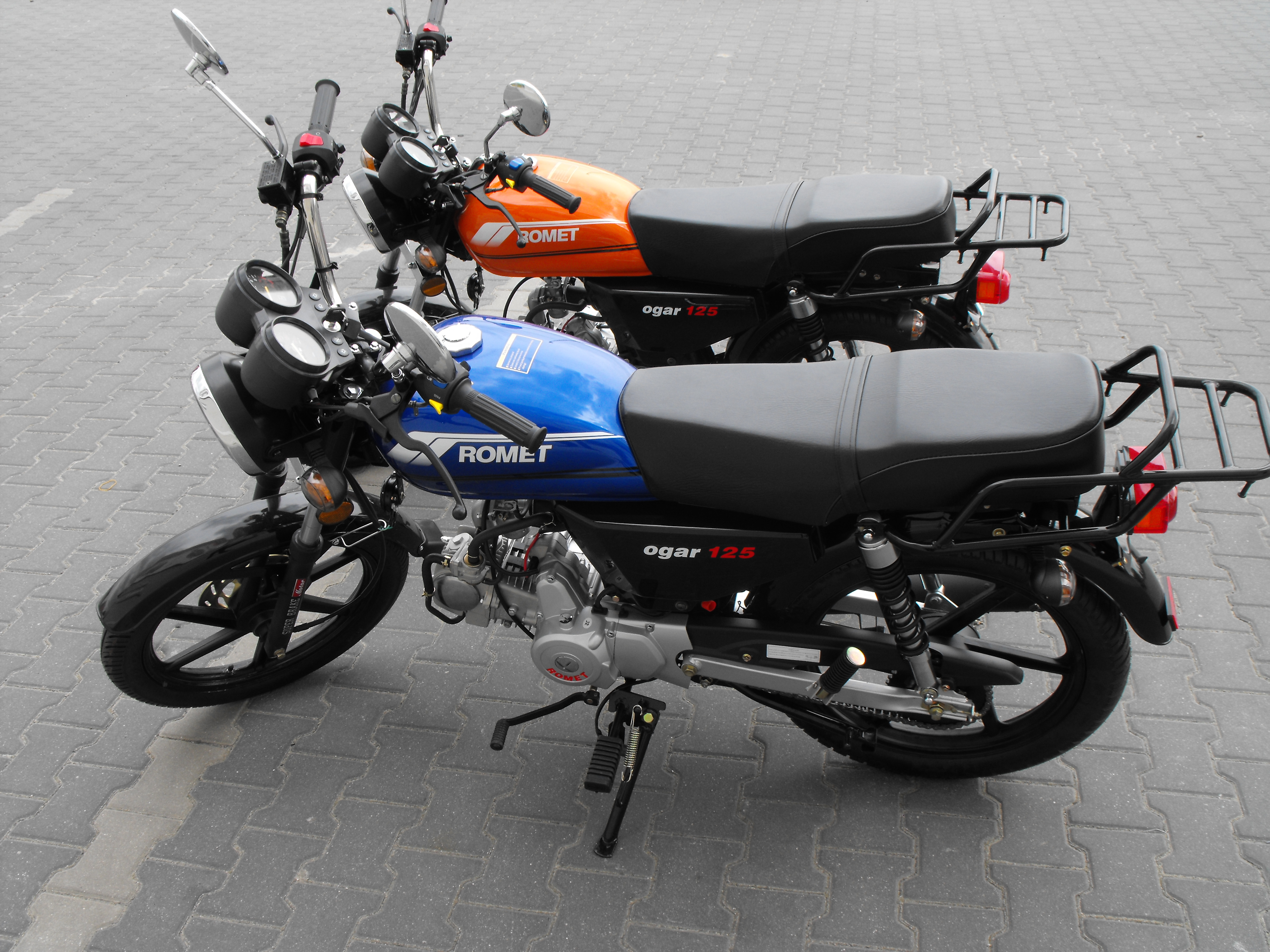 motocykl romet ogar 125 5670513464 wi cej. Black Bedroom Furniture Sets. Home Design Ideas